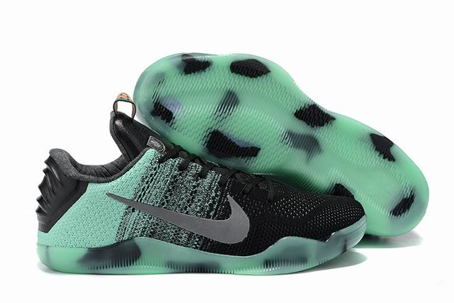 Kobe 11 Shoes Noctilucence All-star Black Green